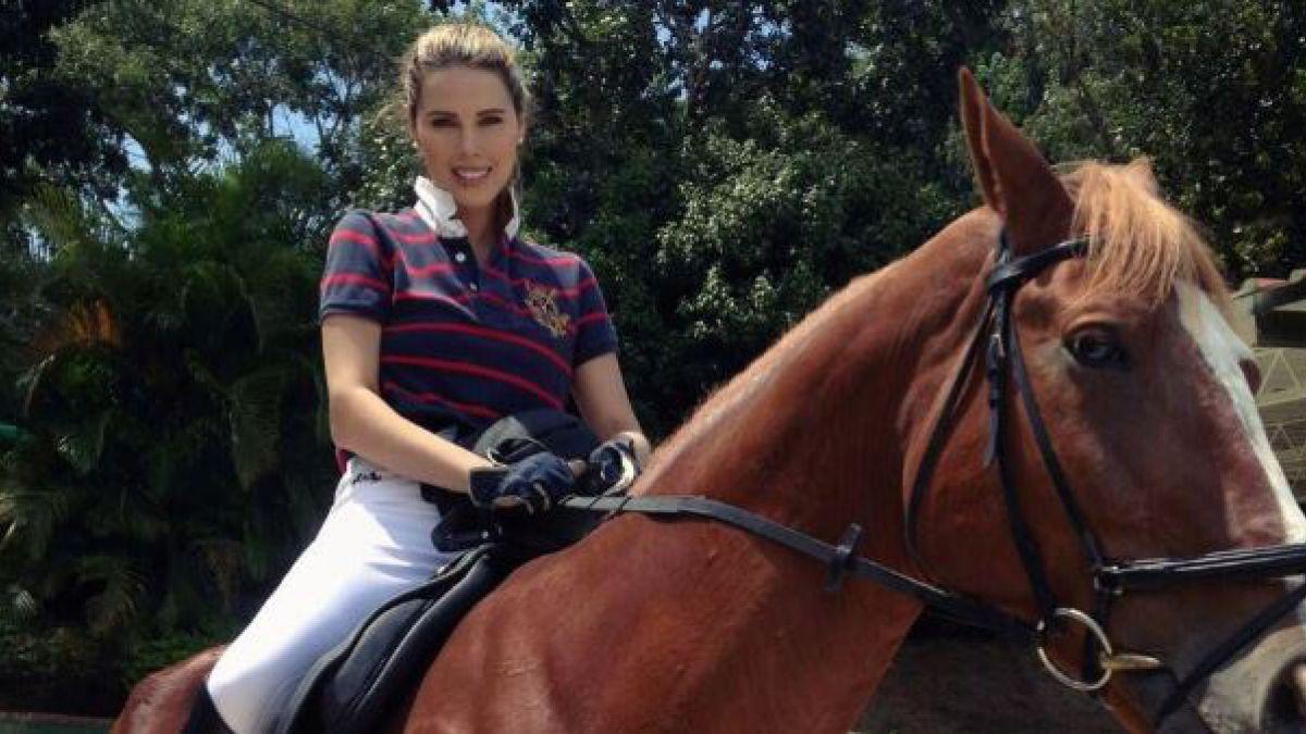 Ella es Desiree Ortiz Salswach, quien dice ser la novia de Luis Miguel