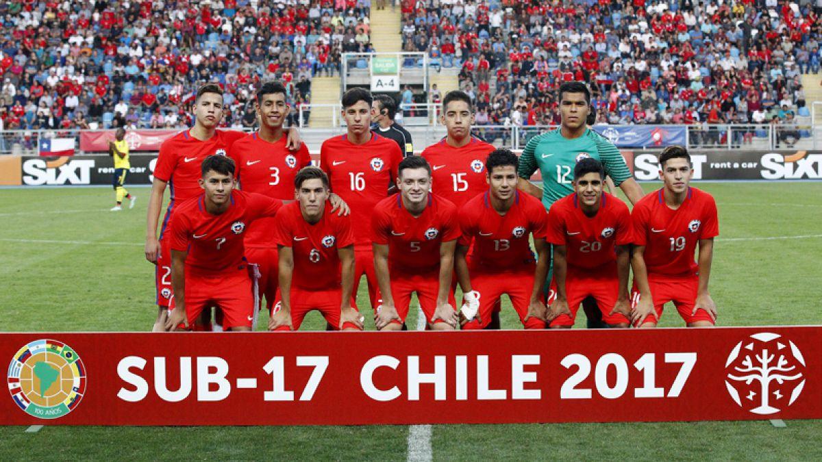 Así será el sorteo para la Roja en el Mundial Sub 17