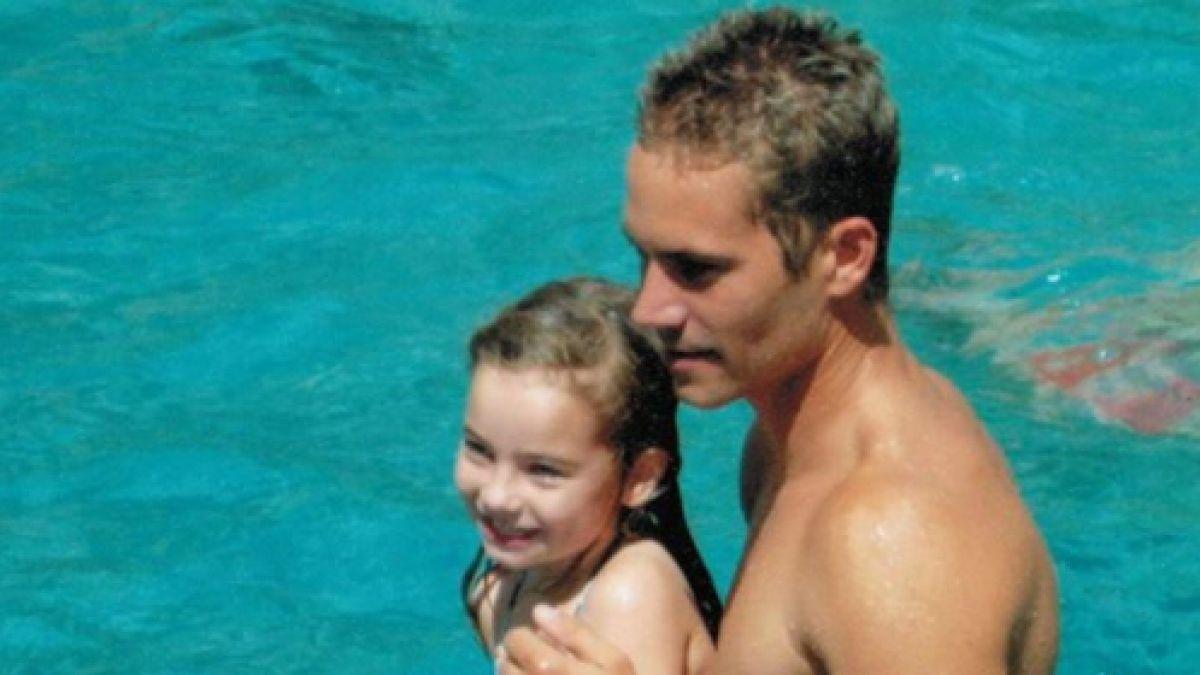 La hija del fallecido Paul Walker reaparece convertida en modelo