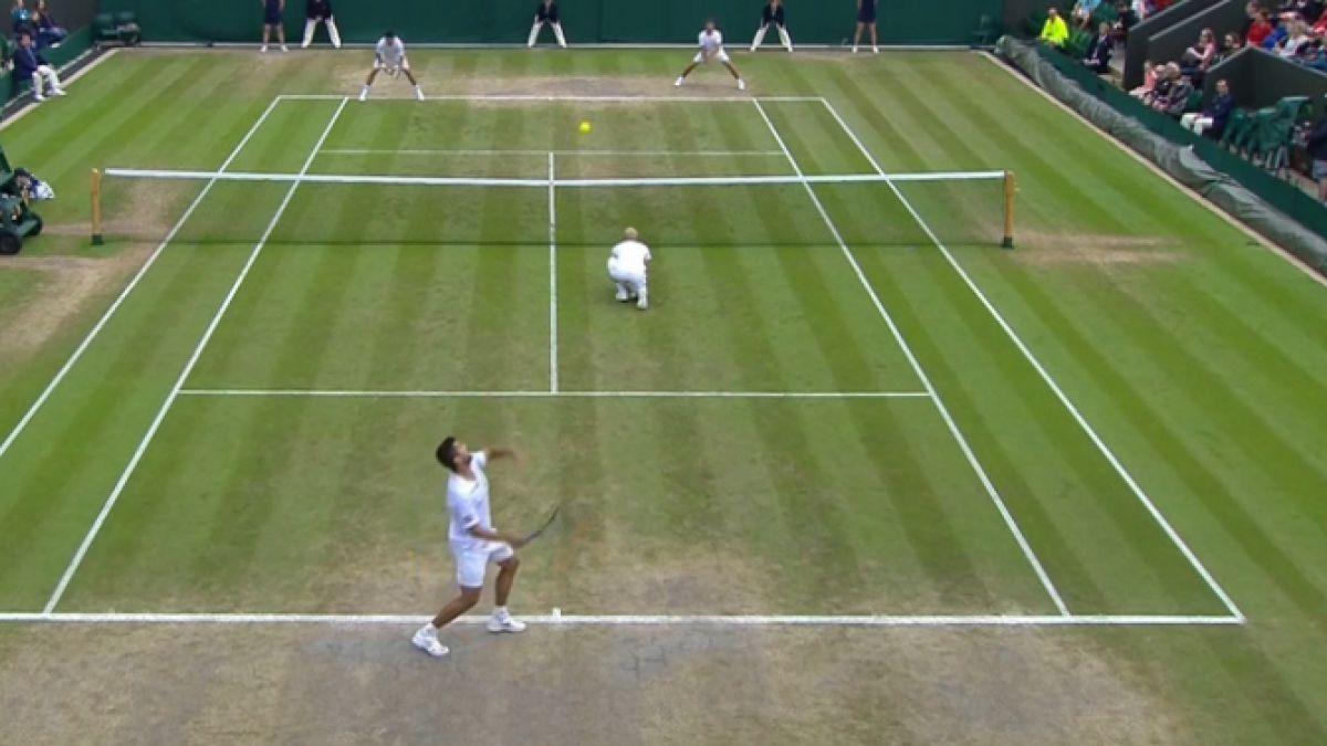 Podlipnik amplía su historia en Wimbledon y llega a cuartos de final