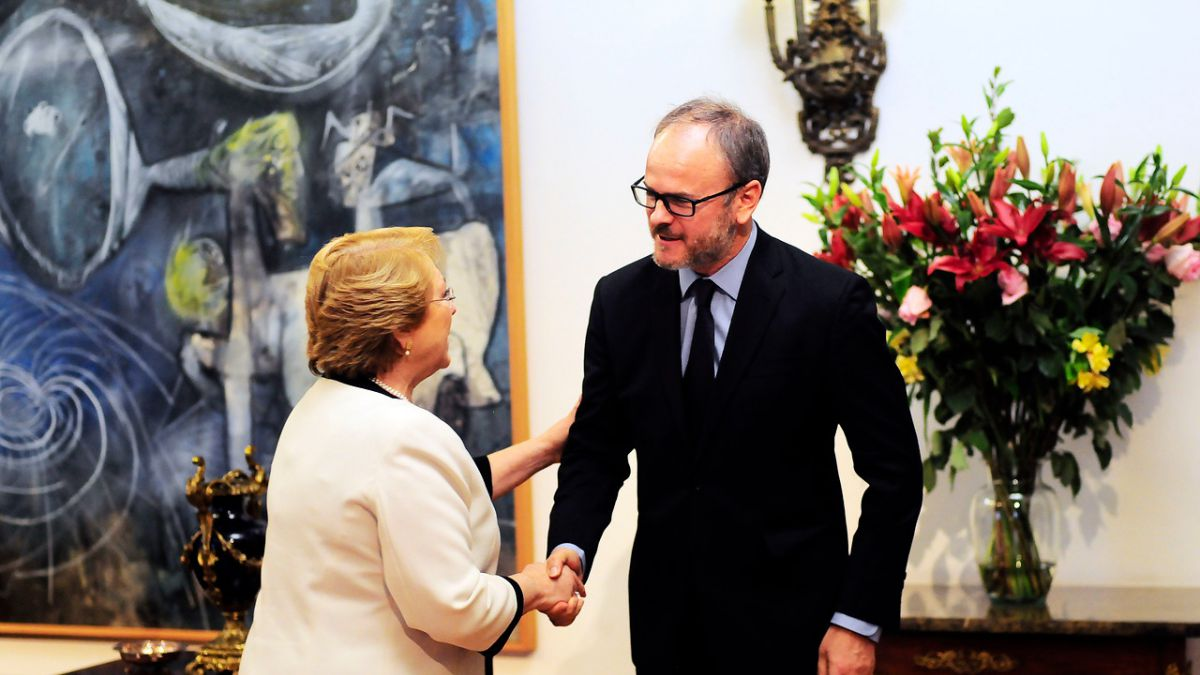 Presidenta Bachelet recibió a directiva de la Sofofa en La Moneda