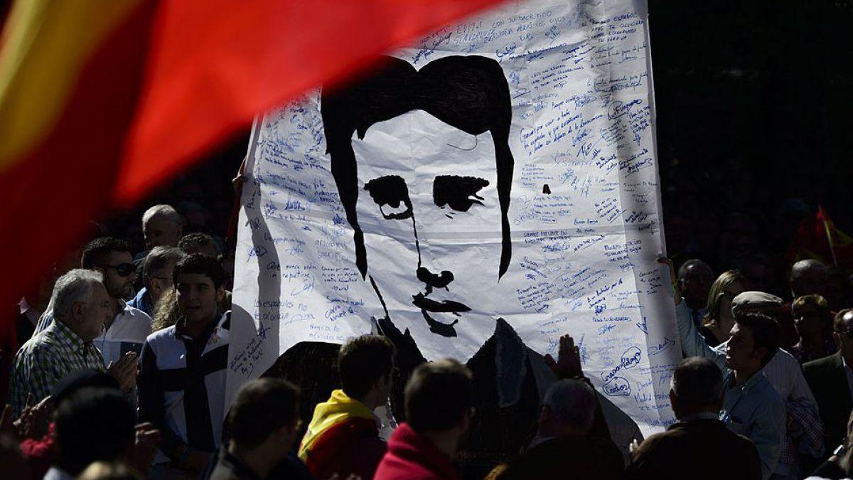 España recuerda 20 años del asesinato que marcó