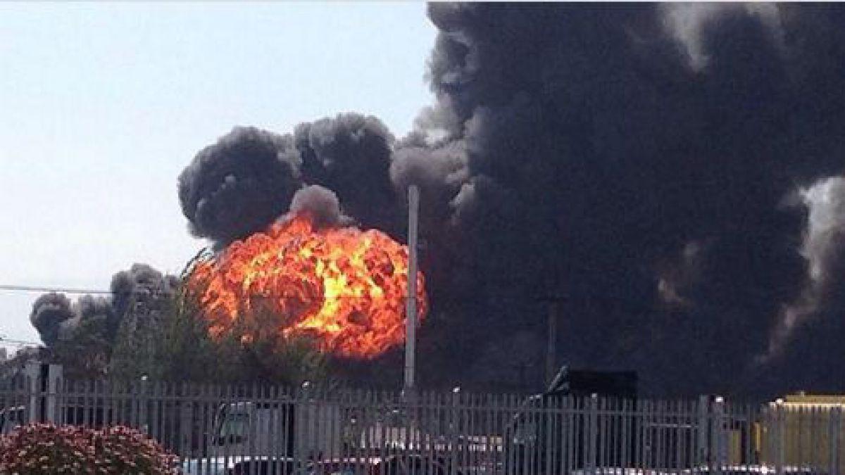 Explosión en Quilicura deja al menos tres lesionados