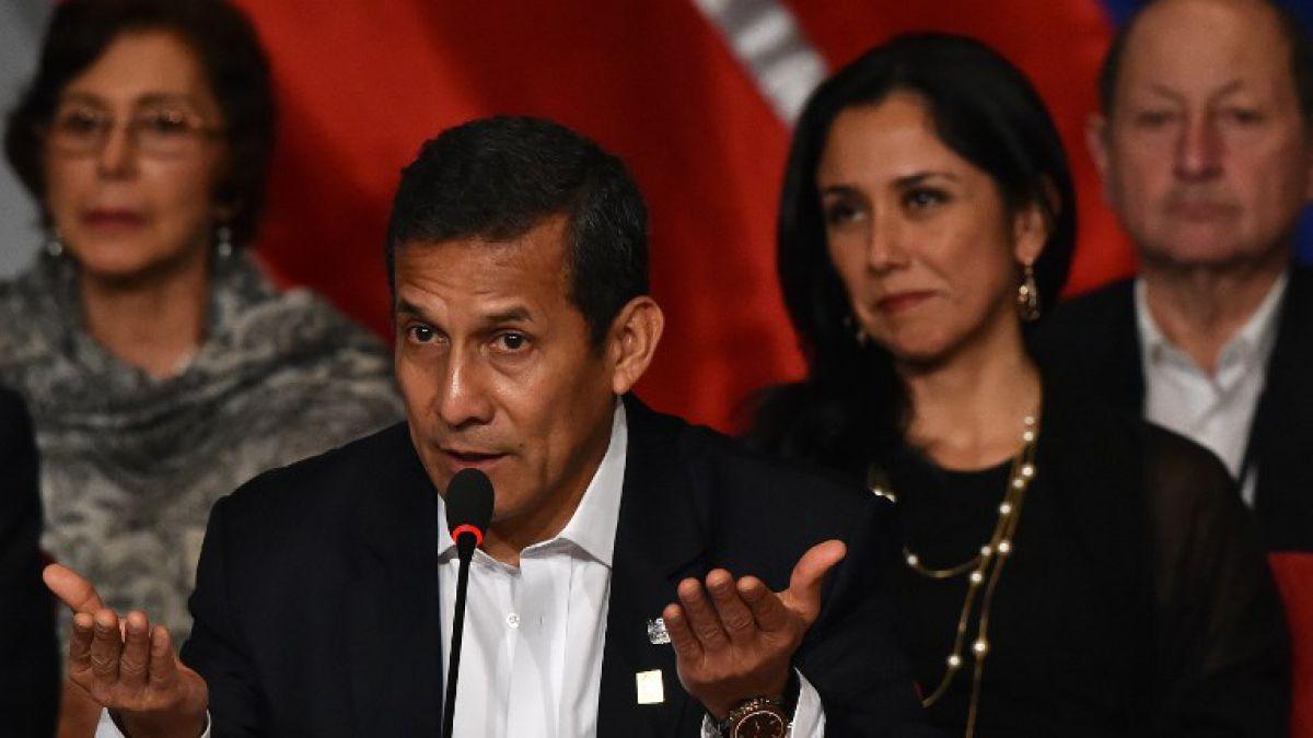 Juez dicta prisión preventiva por 18 meses para ex presidente Humala y su esposa