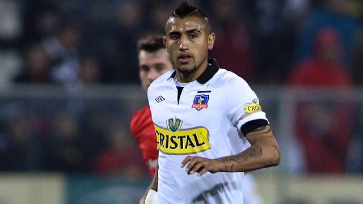 Arturo Vidal expresa molestia por situaci³n actual de Colo Colo