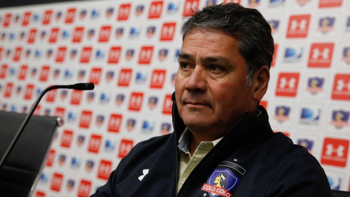 Óscar Meneses deja su cargo de gerente deportivo en Colo Colo