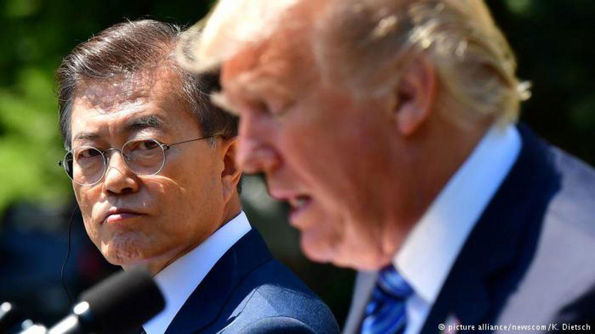 Estados Unidos pide a Corea del Sur renegociar su tratado comercial