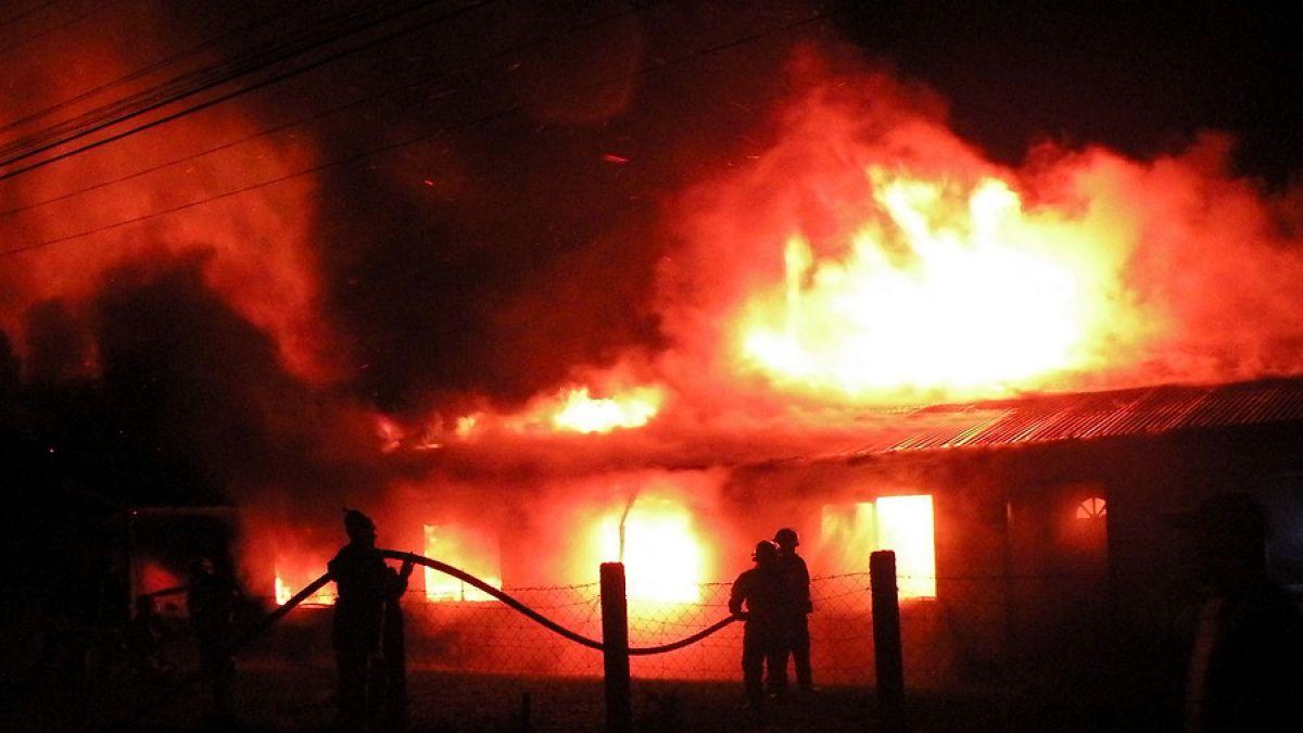 Ataque incendiario en Alto Biobío deja seis caballos muertos
