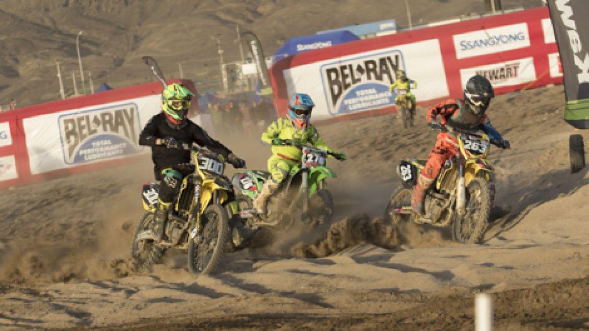 Los resultados de la primera fecha del Nacional de Motocross en Antofagasta