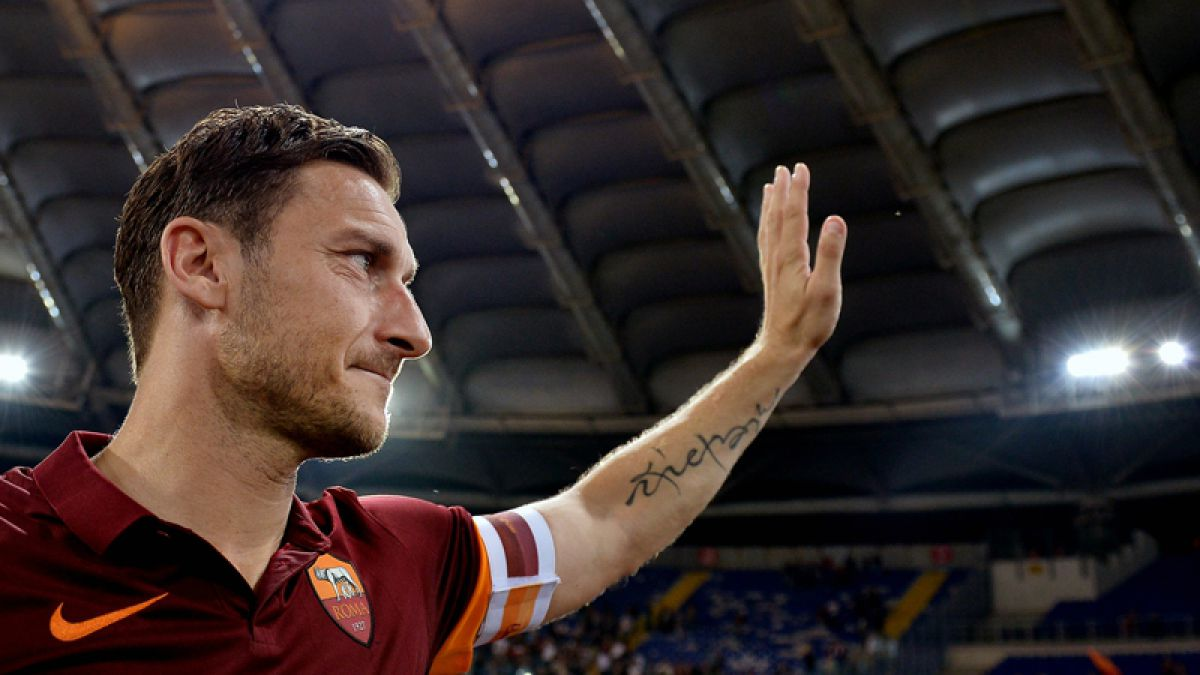 Amor eterno: Francesco Totti deja las canchas para seguir ligado a la Roma