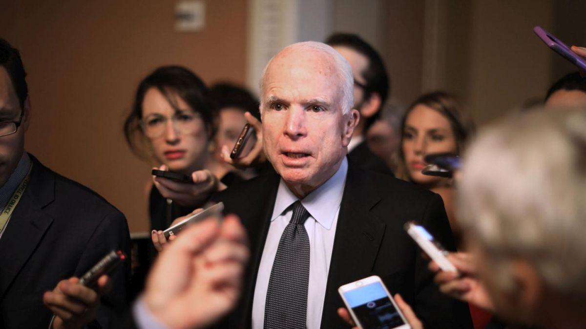 EEUU: diagnostican cáncer al senador McCain