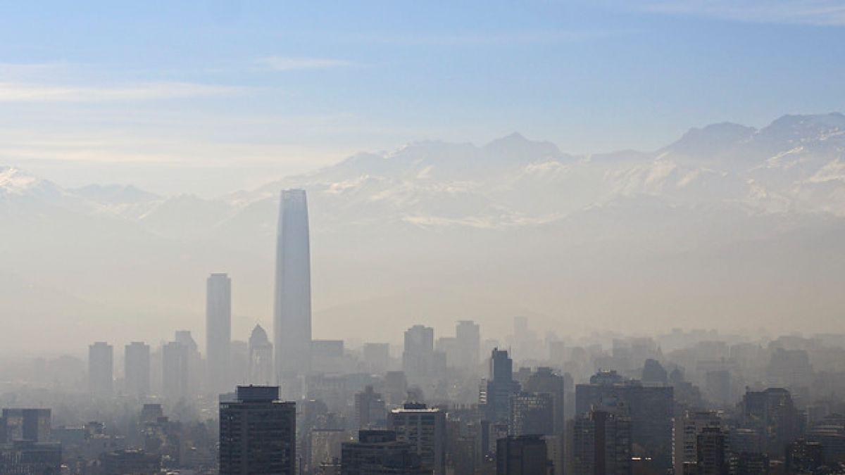 Alerta ambiental en Santiago por malas condiciones de ventilación — Otro día más