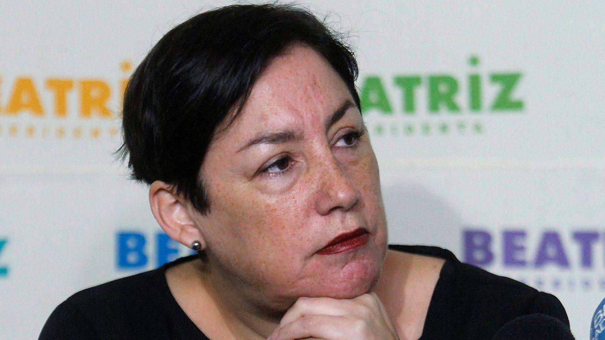 Beatriz Sánchez queda en el tercer lugar de la encuesta Cadem