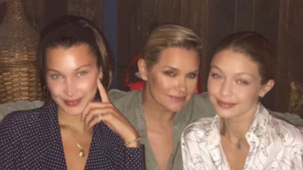 Mamá de Gigi y Bella Hadid luce su espectacular figura en Instagram