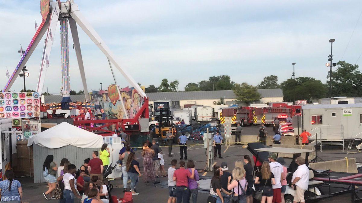 Ohio: accidente en Feria Estatal deja un muerto y siete heridos ...