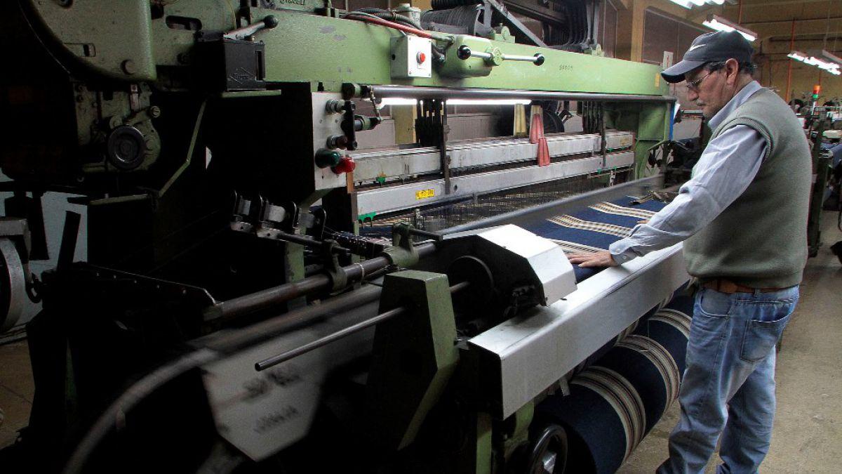 Producción Industrial anotó retroceso de 2,1% en junio