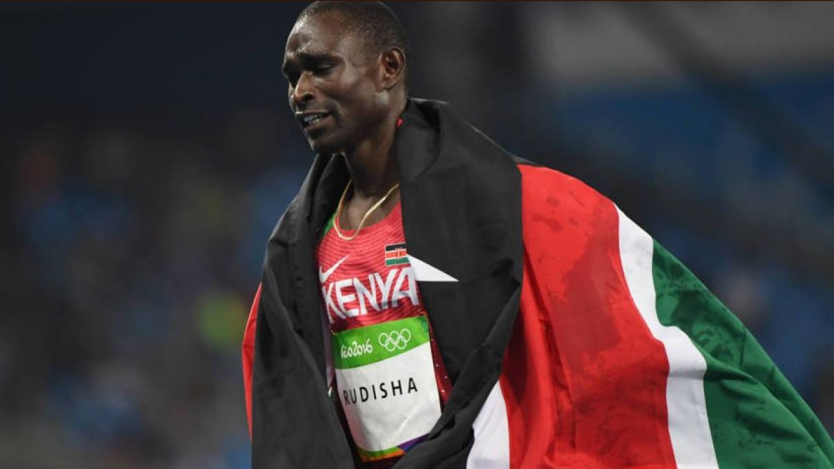 Keniano Rudisha anuncia que queda fuera del Mundial de Atletismo por lesión