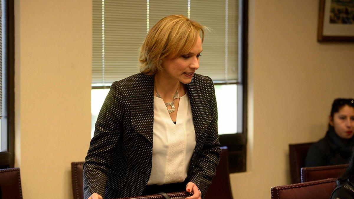 Carolina Goic confirma su candidatura presidencial