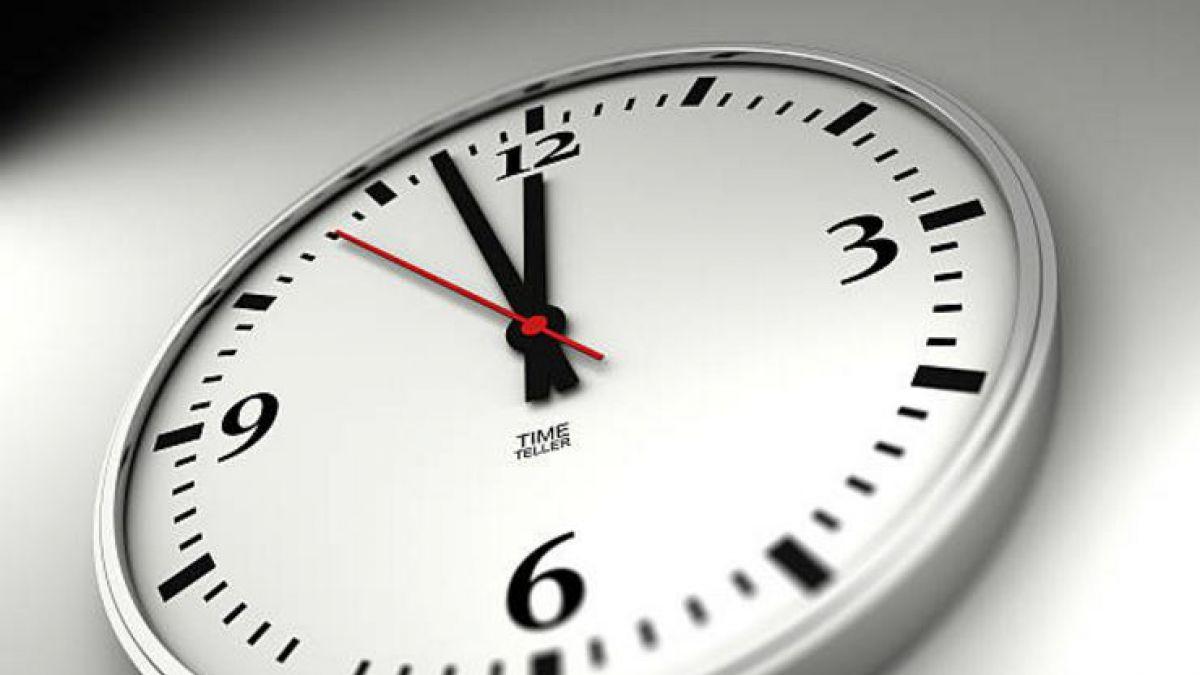 Horario de verano 2017 cu ndo hay que cambiar la hora - Reloj pintado en la pared ...