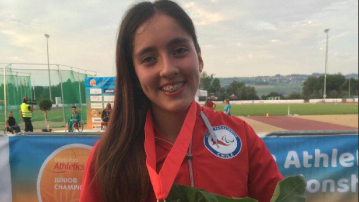 Amanda Cerna gana medalla de oro en Mundial de Atletismo Juvenil en Suiza