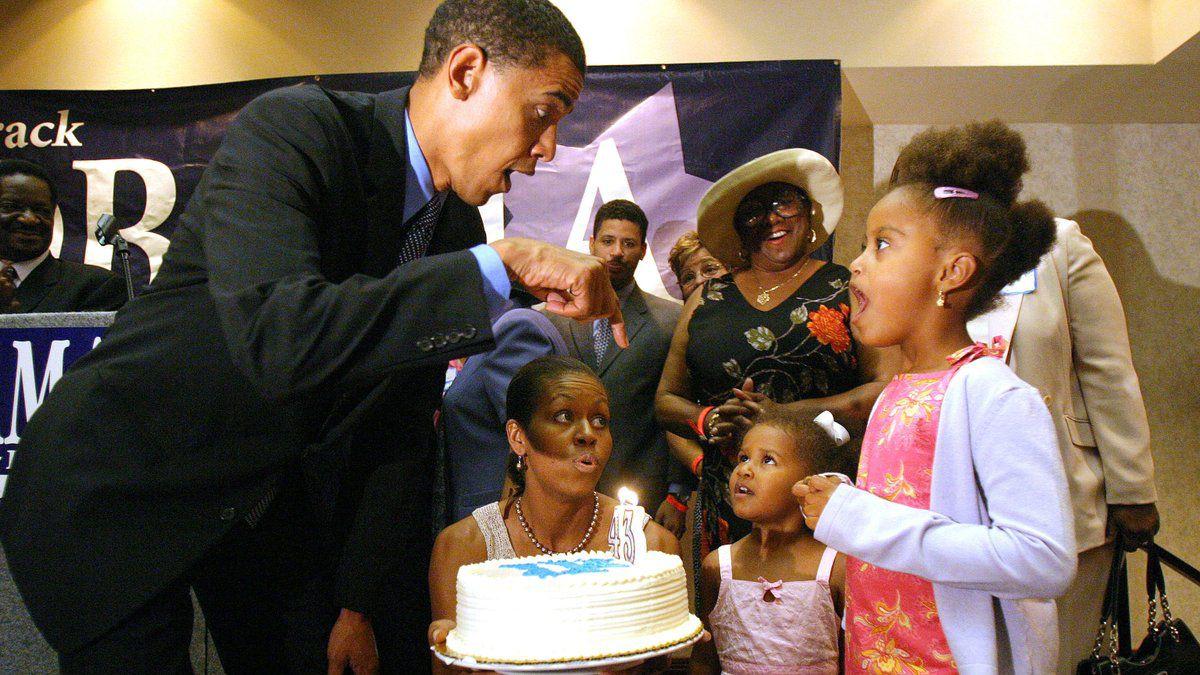 El tuit de Michelle a Barack — Obama cumple años
