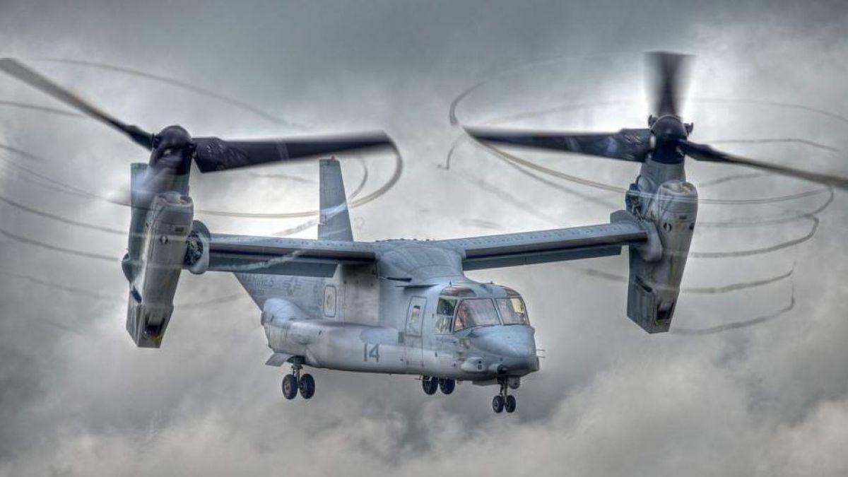 Se estrella una aeronave militar de EEUU frente a la costa australiana