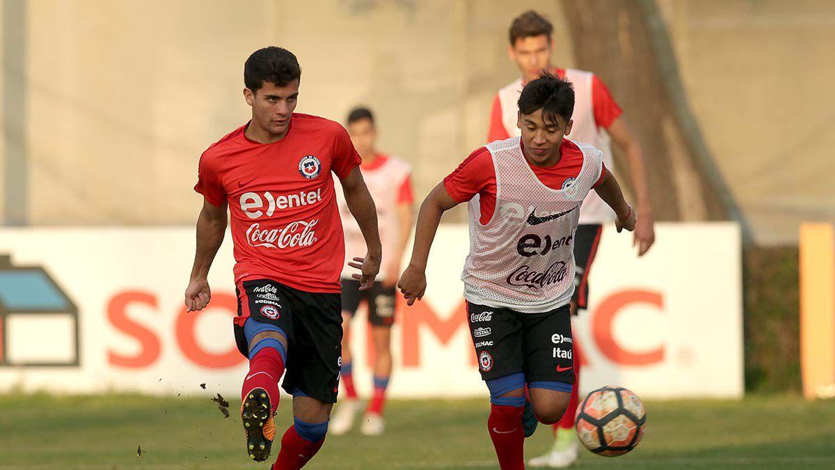 Alarcón y Allende brillaron en triunfal debut de la 'Roja' sub 20