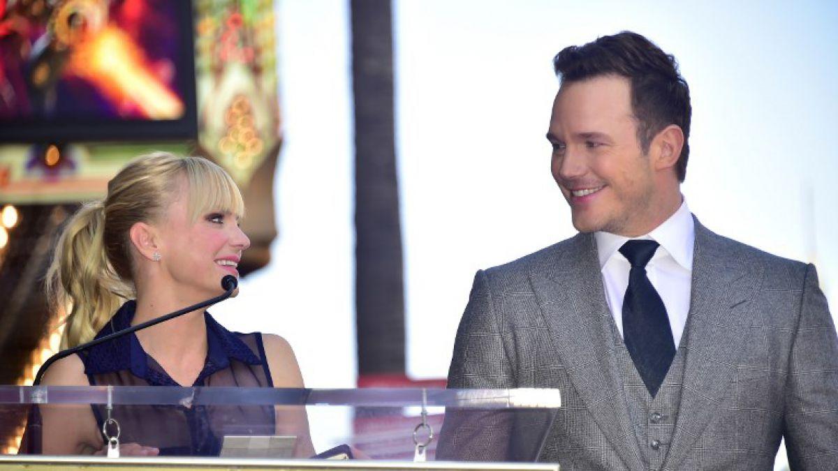 Chris Pratt y Anna Faris anunciaron su separación