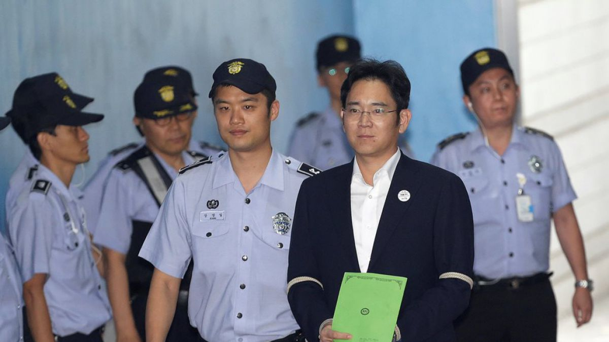 Fiscal pide 12 años de cárcel para heredero de Samsung