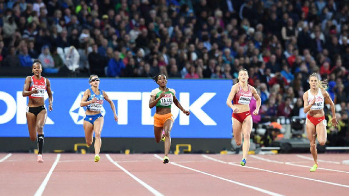 Isidora Jiménez termina última en serie clasificatoria y se despide del Mundial de Atletismo