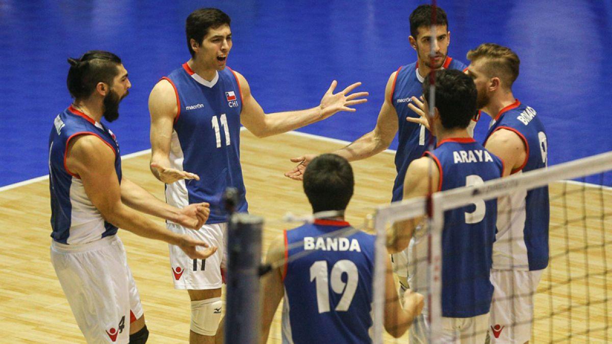 Chile vence a Uruguay y avanza a las semifinales del Sudamericano de voleibol
