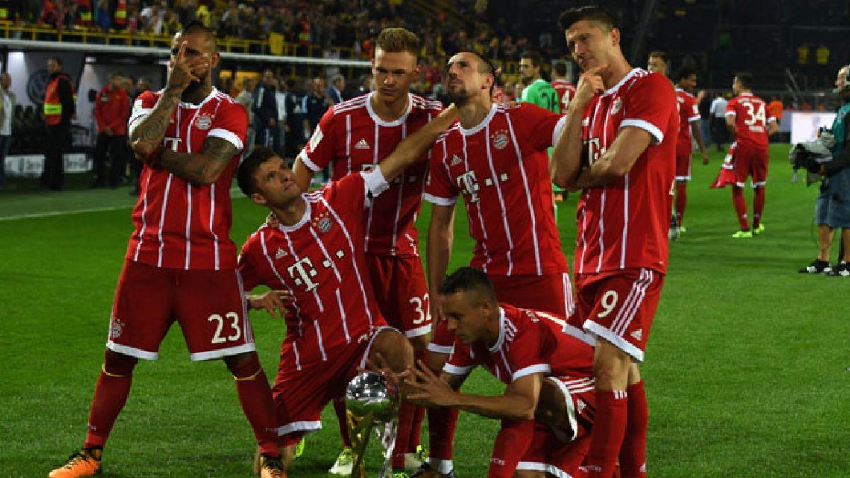 La foto de Arturo Vidal en Bayern Munich que todos quieren imitar