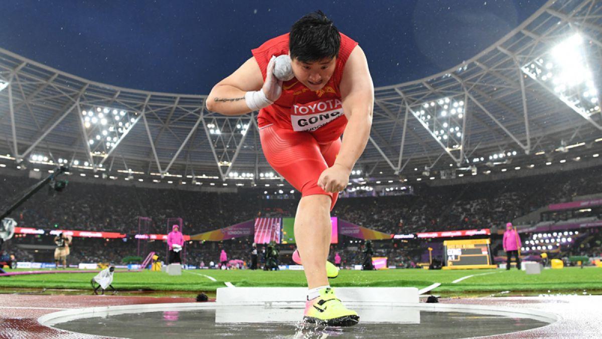 Octavo lugar para cubana Yaniubis López en Mundial de atletismo