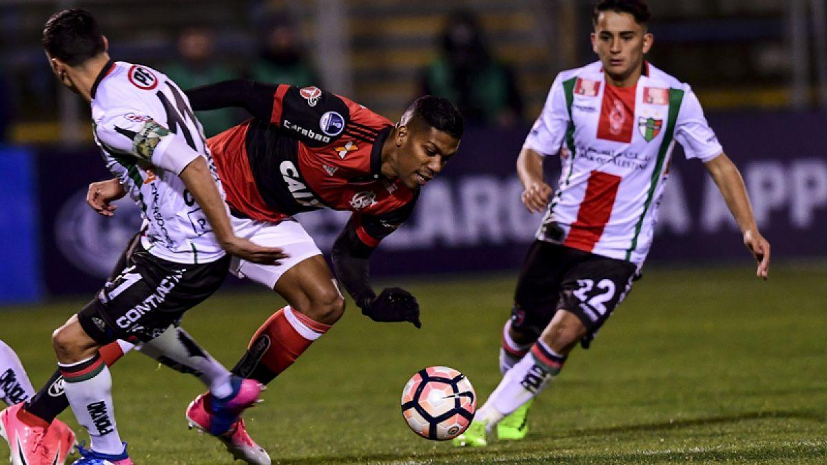 [Minuto a Minuto] Palestino volvió a ser goleado por Flamengo en Copa Sudamericana