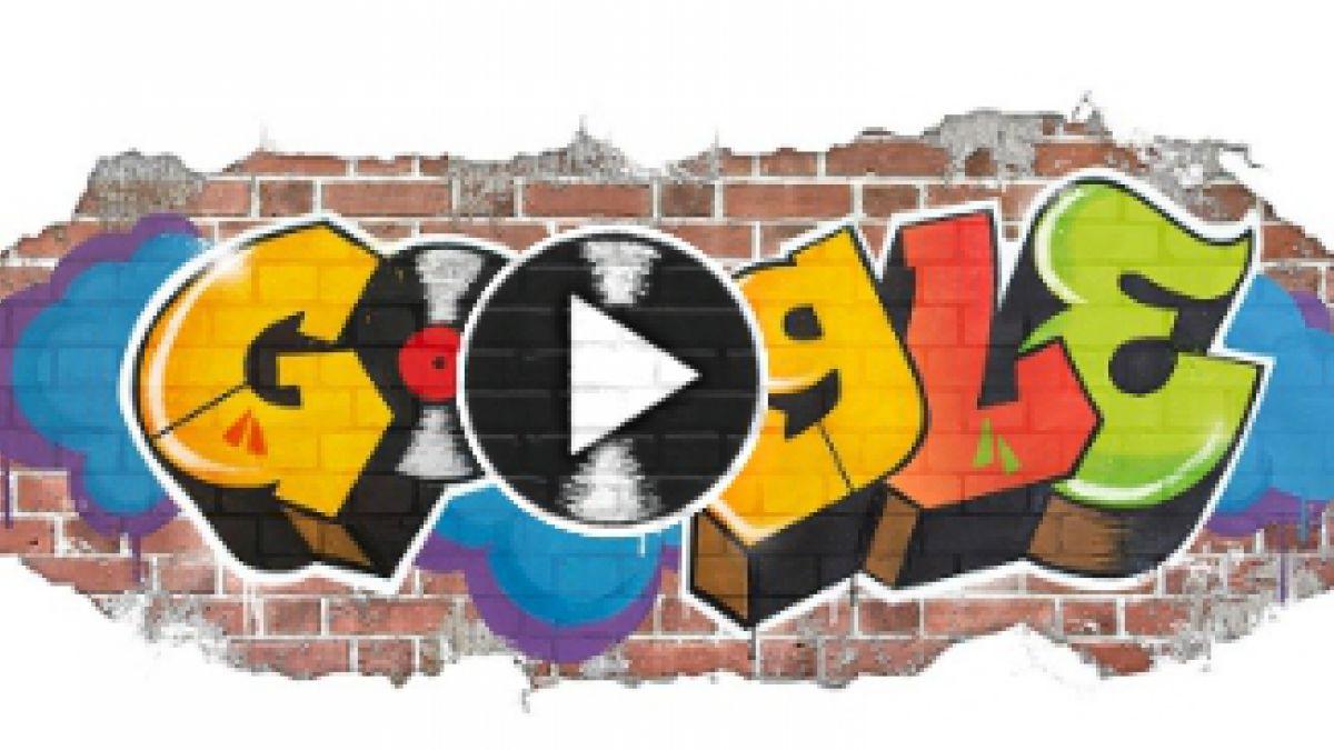 Google homenajea en su 'doodle' al hip-hop