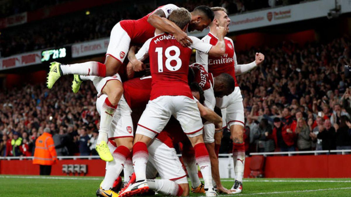 Arsenal FC vence a Leicester en un vibrante encuentro con Alexis en las tribunas