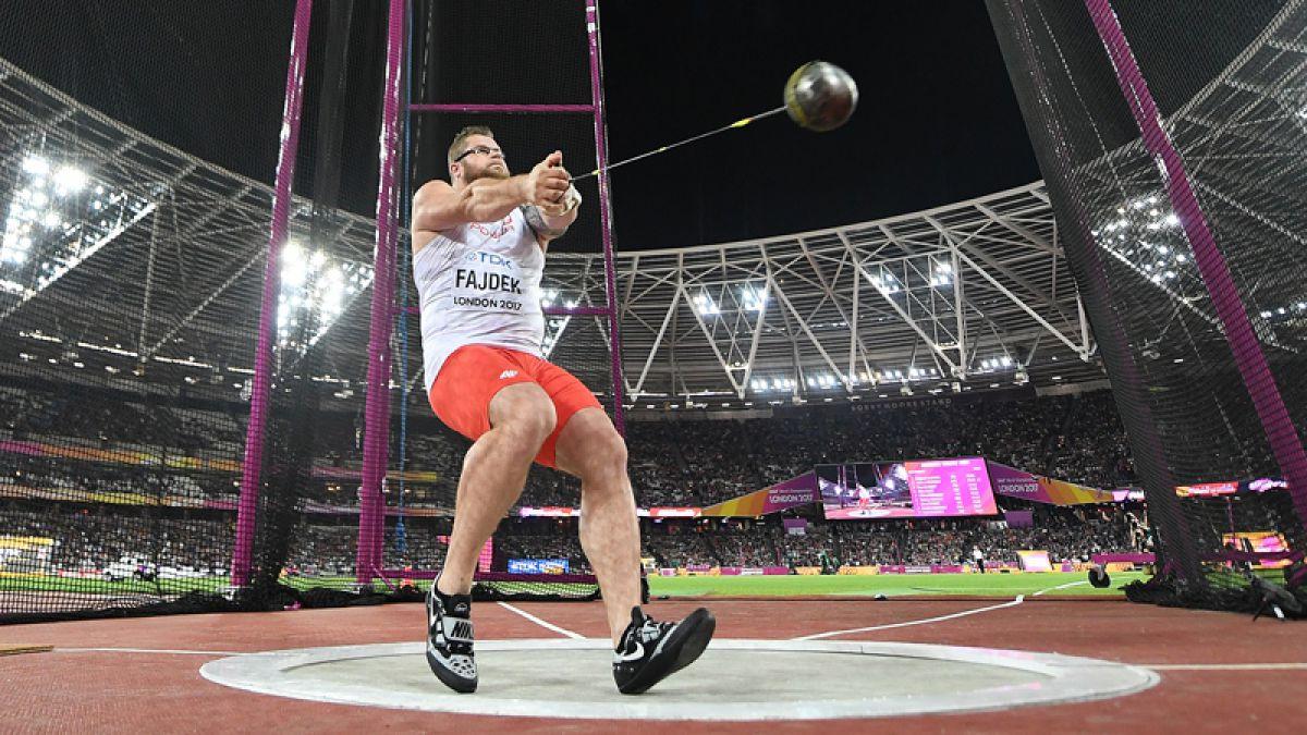 Pawel Fajdek gana su tercer oro en lanzamiento de martillo en Londres 2017