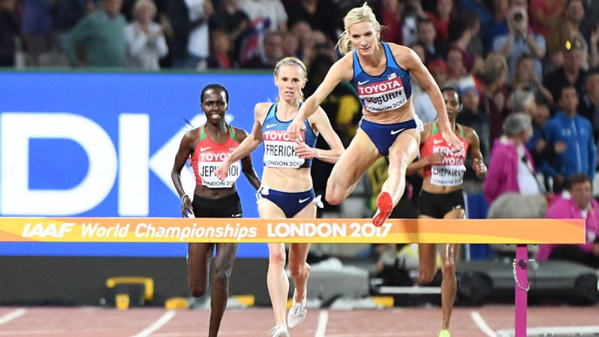 Coburn y Frerichs sorprenden en 3.000 metros obstáculos del Mundial de Atletismo