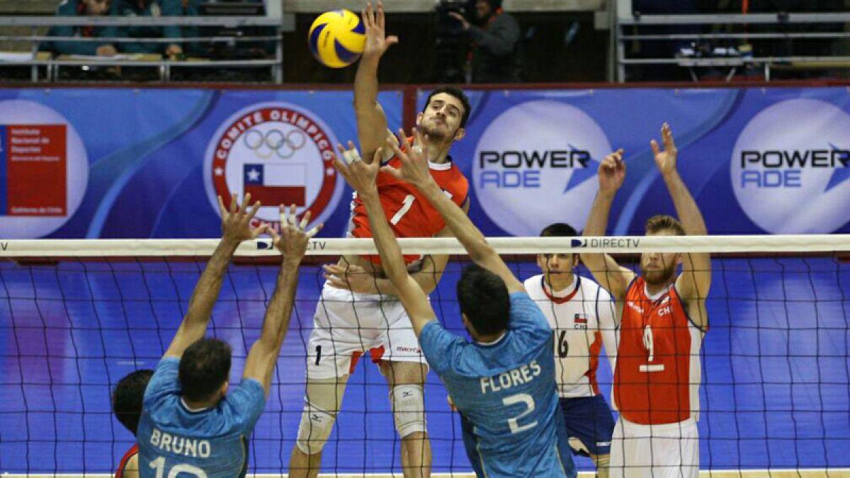 Chile cae ante Argentina y se resigna al cuarto lugar en el Sudamericano de voleibol