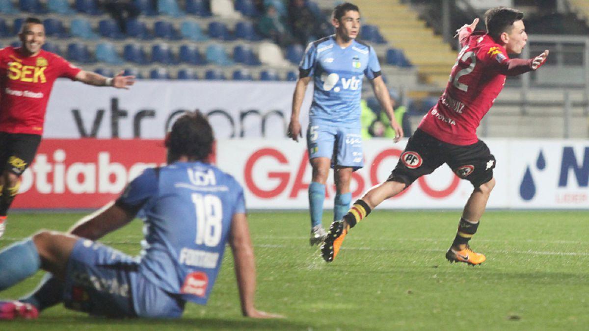 Unión Española vence a O'Higgins en el inicio de la fecha 3 del Torneo de Transición