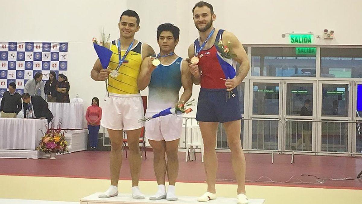 [VIDEO] Tomás González logra bronce en el Panamericano de gimnasia artística