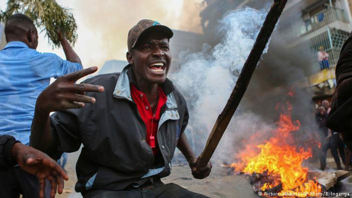 Reelección del presidente Kenyatta desata violencia en Kenia