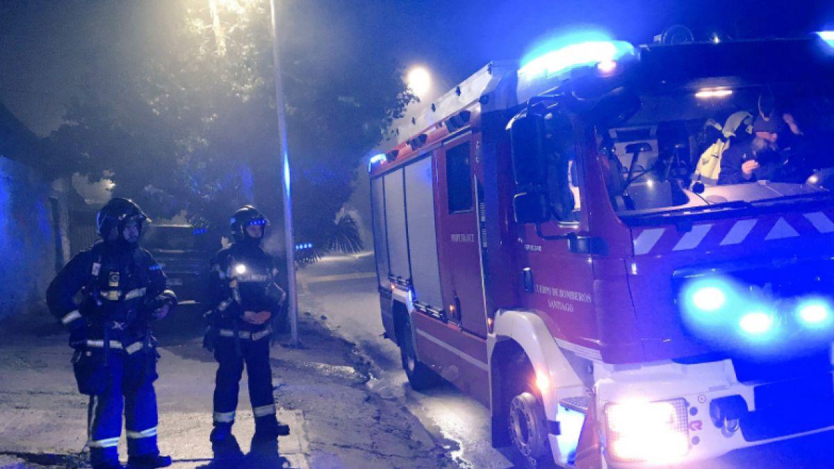Incendio en vivienda en Renca deja tres víctimas fatales — CHILE