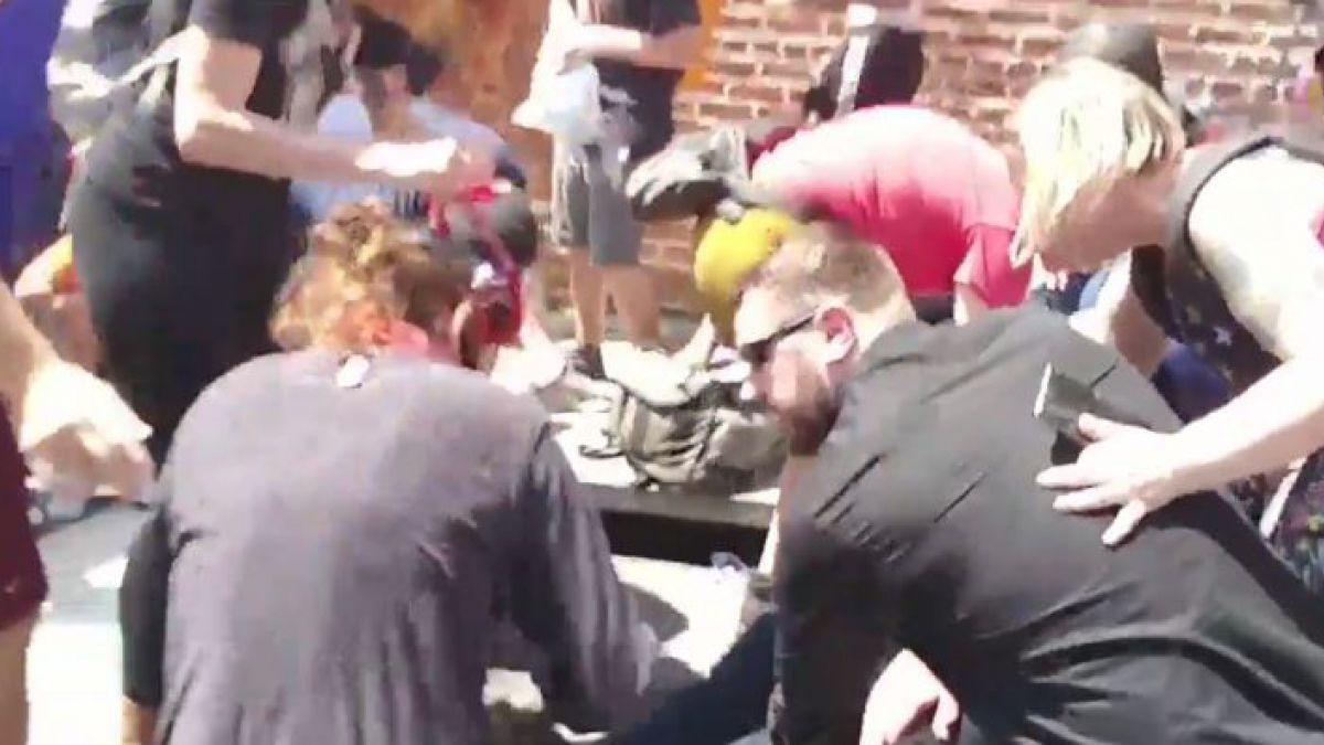 3 muertos y varios heridos dejó violenta manifestación por la supremacía blanca en EE.UU.