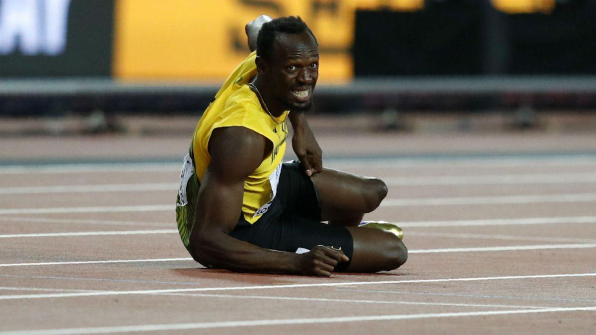 Usain Bolt se lesiona en la posta 4x100 y se despide con amargura del atletismo