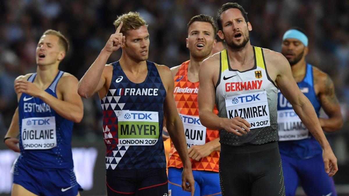 Kevin Mayer gana oro en Londres para ser el primer francés campeón de decatlón