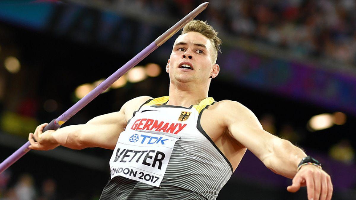 El alemán Johannes Vetter se proclama campeón mundial de jabalina