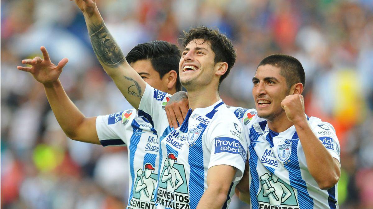 Ángelo Sagal anota en victoria del Pachuca sobre Tigres de Eduardo Vargas