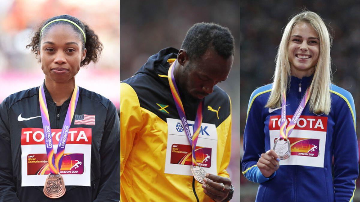 Conoce el medallero final del Mundial de Atletismo de Londres 2017