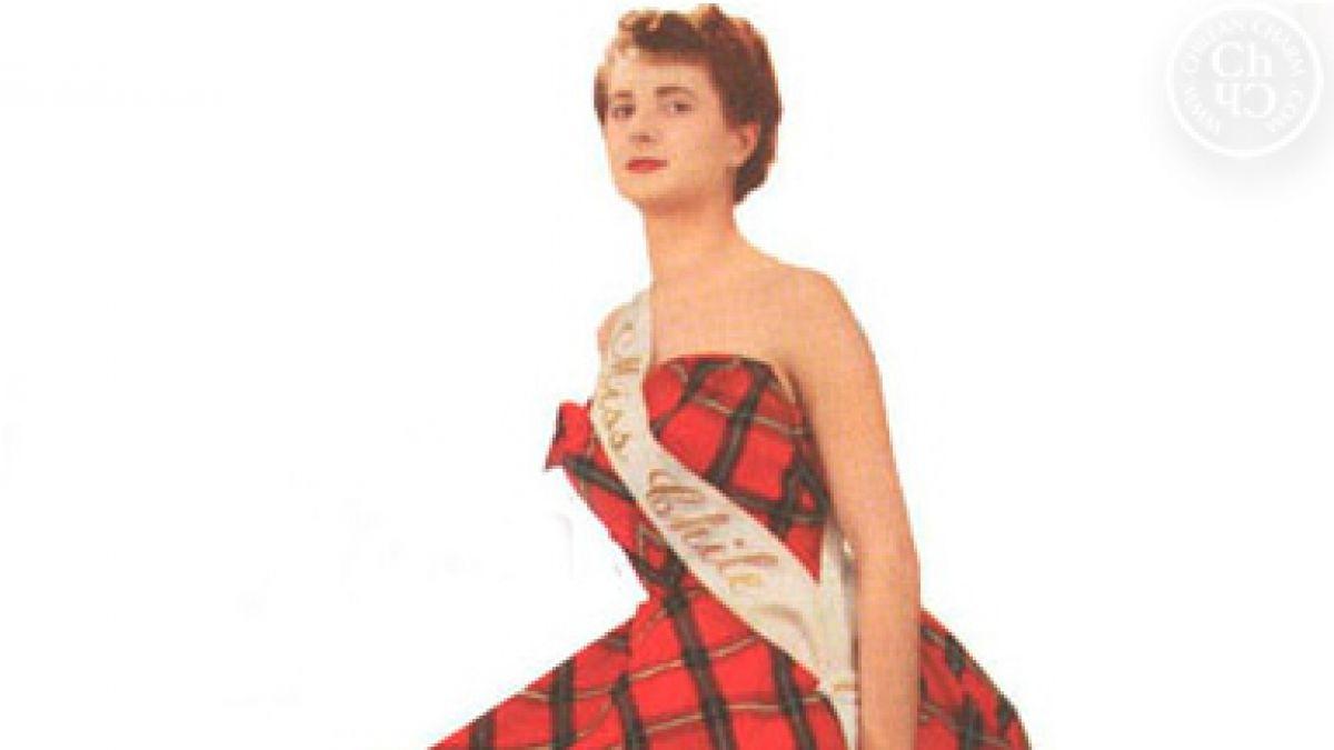 Esther Saavedra representó a Chile en el Miss Universo de 1952